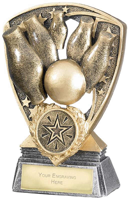"""Challenger Shield Skittles Award 12cm (4.75"""")"""