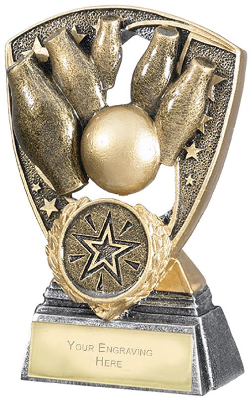 """Challenger Shield Skittles Award 11cm (4.25"""")"""
