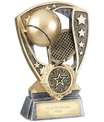 "Challenger Shield Tennis Award 12cm (4.75"")"
