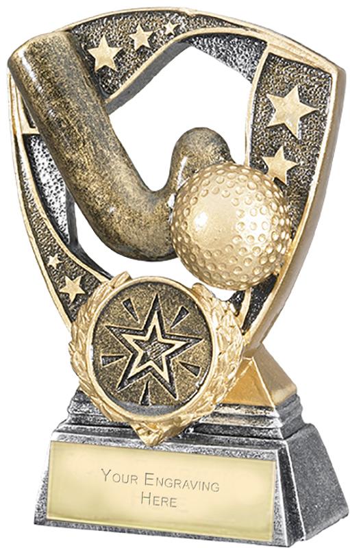 "Challenger Shield Hockey Award 11cm (4.25"")"