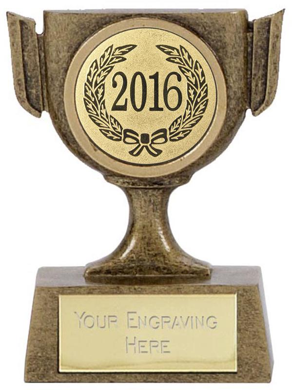 "2016 Resin Mini Star Cup Trophy 6.5cm (2.5"")"