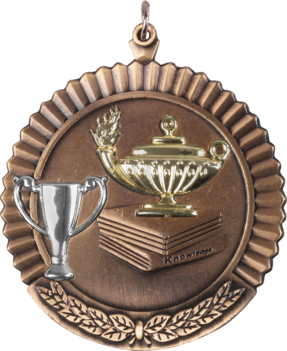 """Bronze Knowledge Medal 50mm (2"""")"""