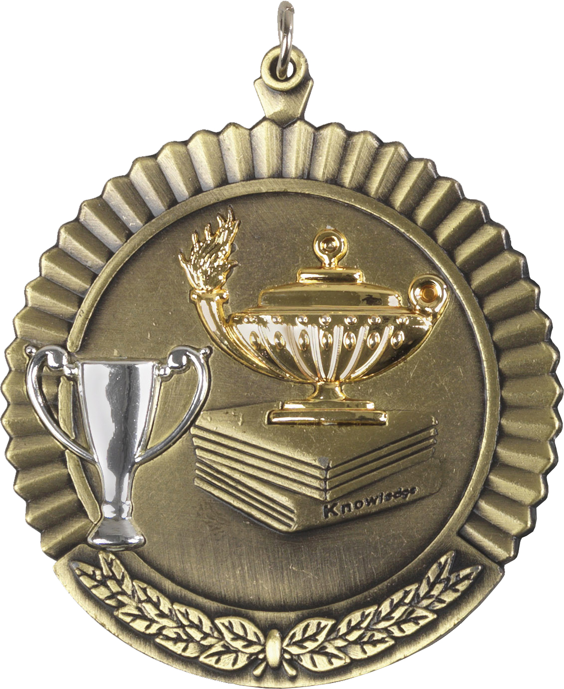 """Gold Knowledge Medal 50mm (2"""")"""
