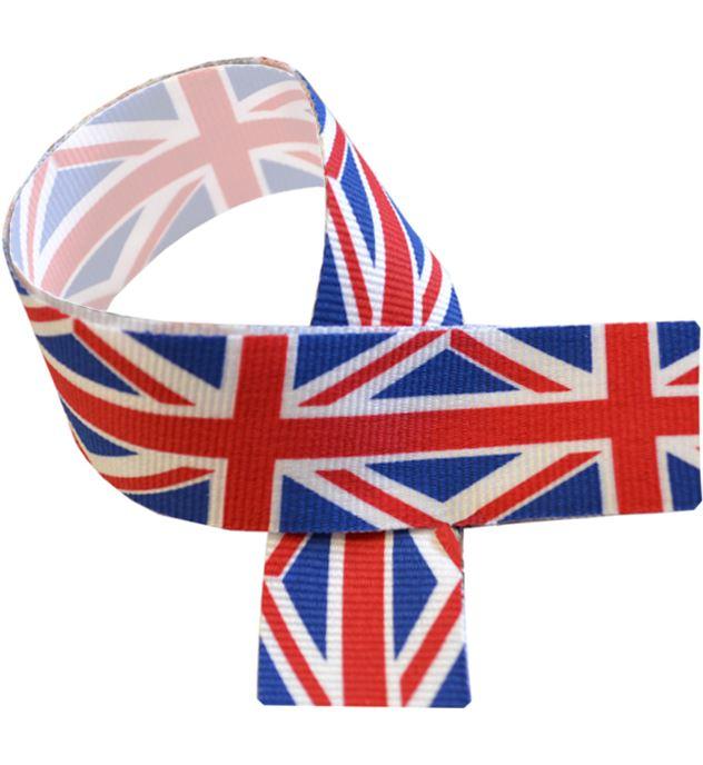 """Union Jack Medal Ribbon 76cm (30"""")"""