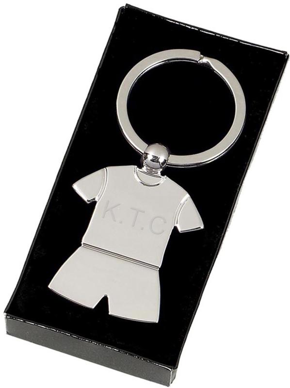"Silver Sports Kit Keyring 4cm (1.5"")"