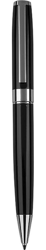 "Black & Silver Ball Point Pen 14cm (5.5"")"