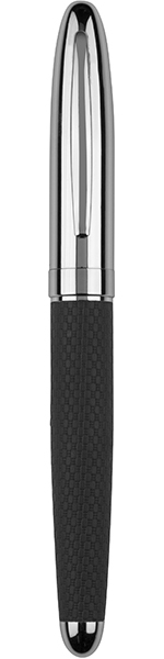 """Silver Finished Thick Stem Roller Ball Pen 14cm (5.5"""")"""