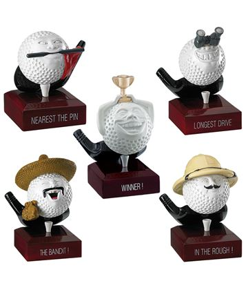 Novelty Golf Trophy Package