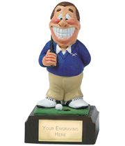 "Nearest To The Pin - Novelty Golf Figure 10cm (4"")"