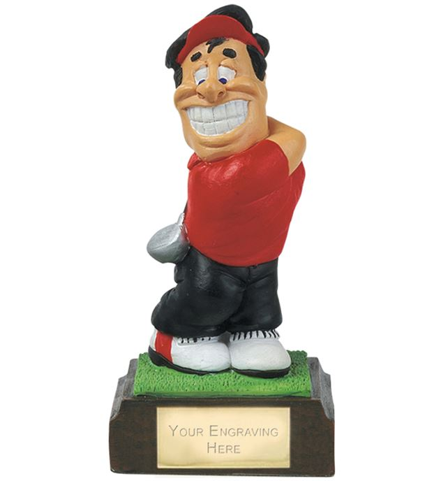 "Longest Drive - Novelty Golf Figure 10cm (4"")"