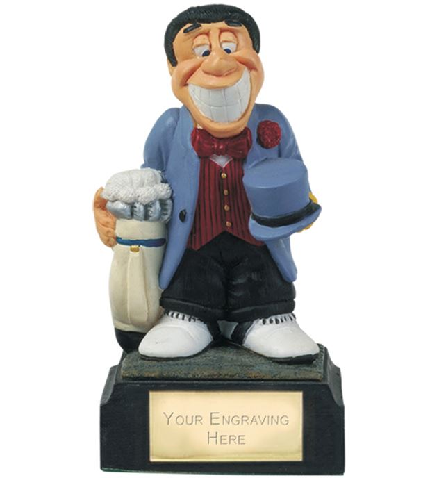 "Married To Golf - Novelty Golf Figure 10cm (4"")"