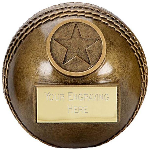 "Premier 3D Resin Cricket Ball Trophy 5.5cm (2.25"")"