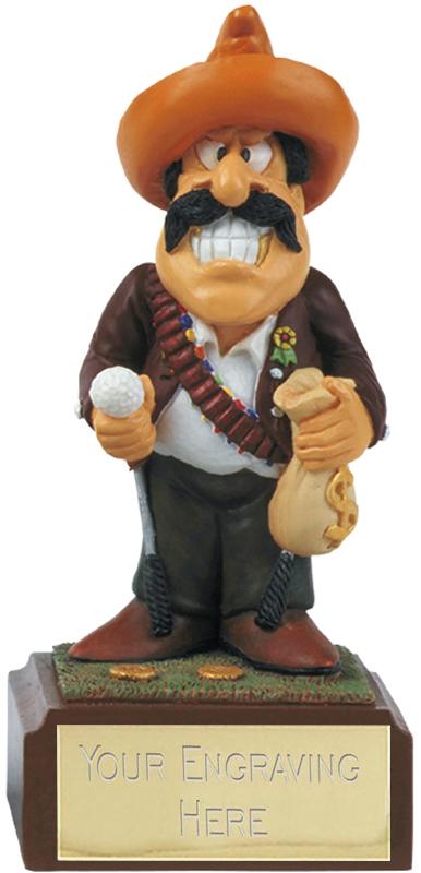 "Bandit - Novelty Golf Figure 10cm (4"")"