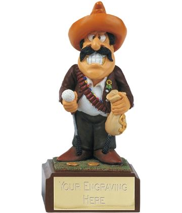 "Bandit - Novelty Golf Figure 10cm (4"")"