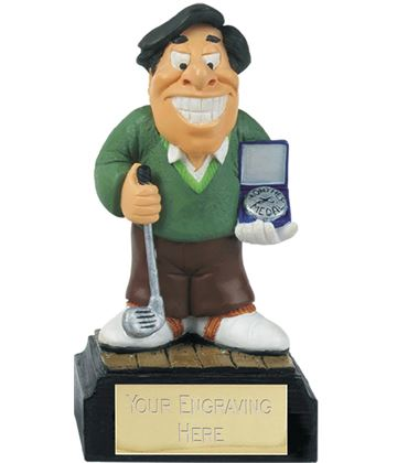 "Monthly Medal - Novelty Golf Figure 10cm (4"")"