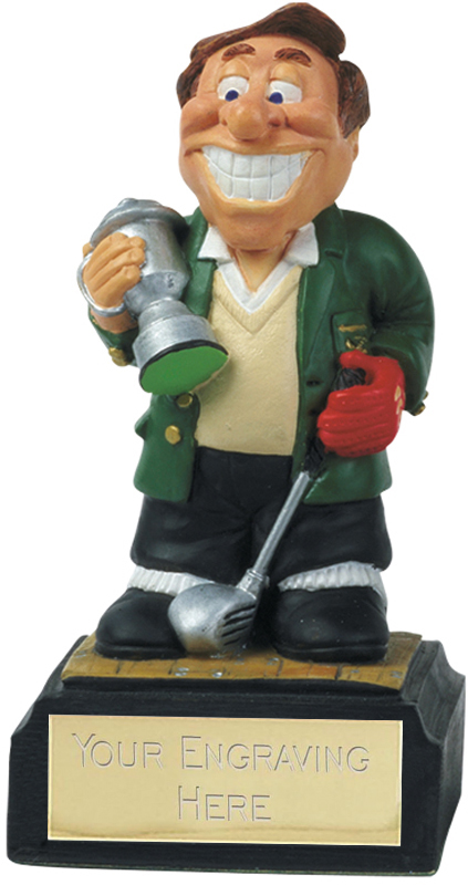 "Golf Winner - Novelty Golf Figure 10cm (4"")"