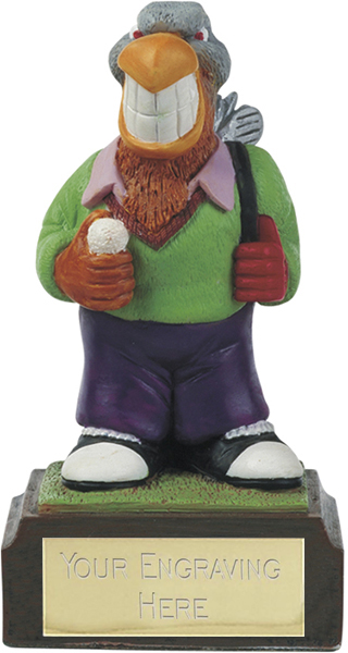 "Eagle - Novelty Golf Figure 10cm (4"")"