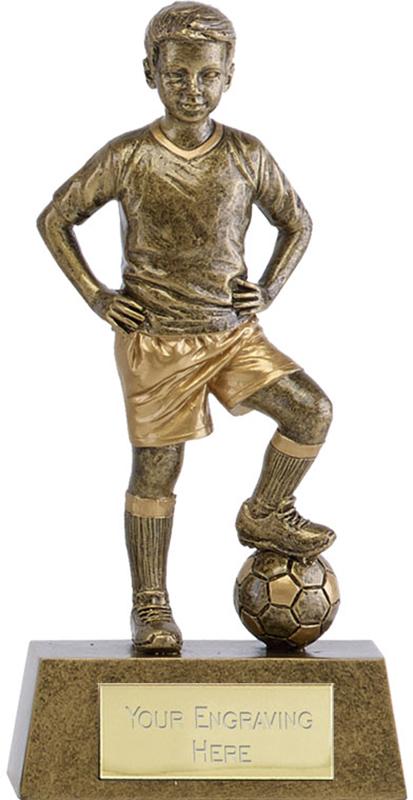 "Phoenix Youth Football Trophy 18cm (7"")"