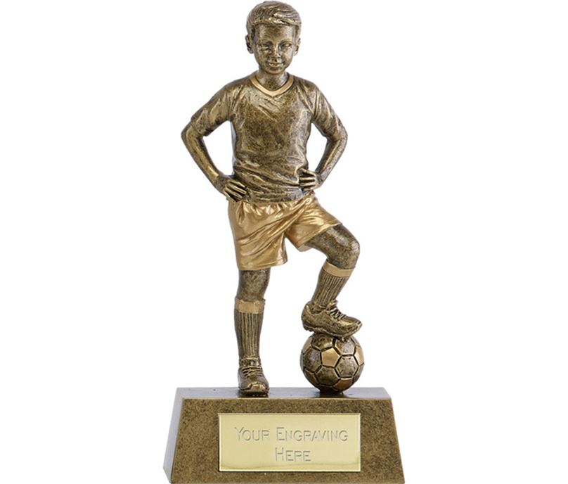 "Phoenix Youth Football Trophy 18cm (7"")"