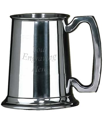 "Sheffield Pewter Devon 1/2 Pint Tankard 9.5cm (3.75"")"