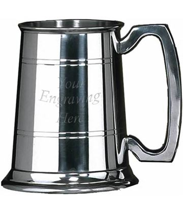 "Sheffield Pewter Rutland 1 Pint Tankard 12.5cm (5"")"