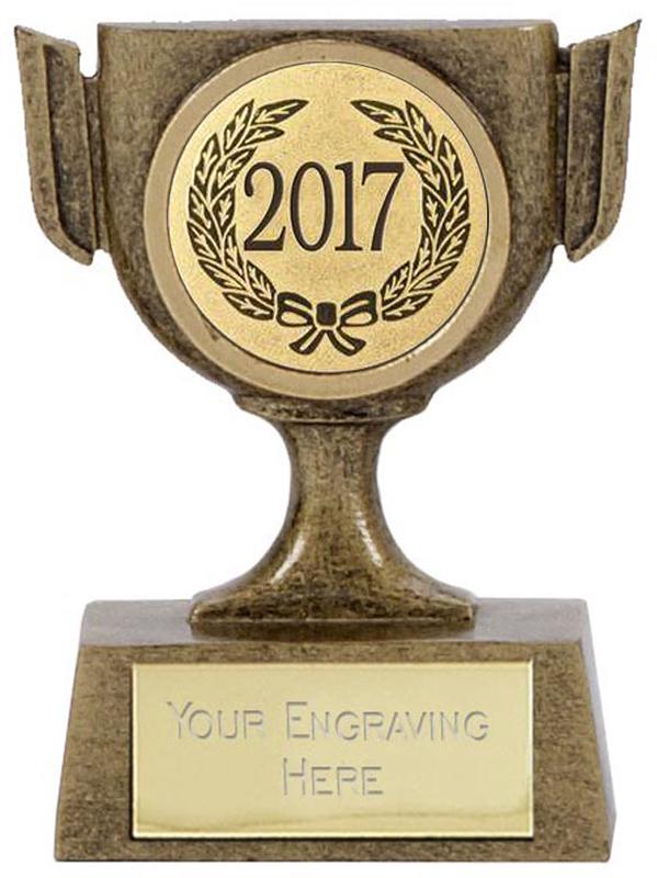 "2017 Resin Mini Star Cup Trophy 6.5cm (2.5"")"