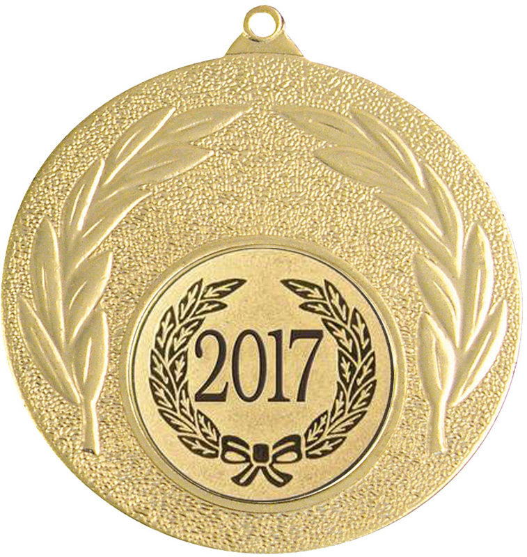 "2017 Gold Leaf Medal 50mm (2"")"