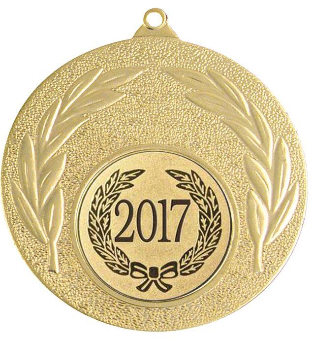 """2017 Gold Leaf Medal 50mm (2"""")"""