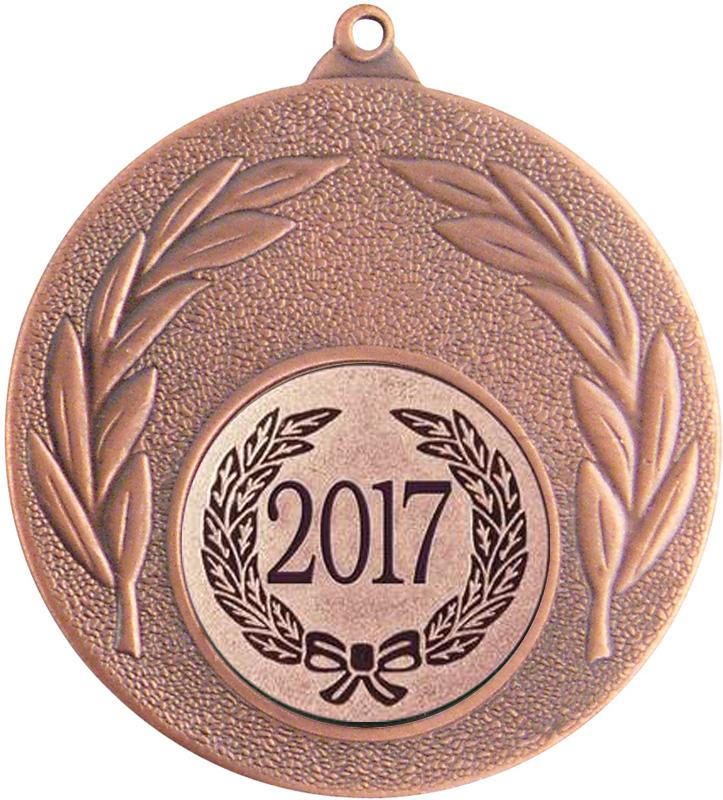 """2017 Bronze Leaf Medal 50mm (2"""")"""