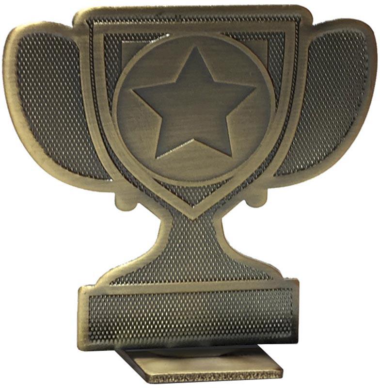 "Achievement Cup Self Standing Medal Bronze 60mm (2.25"")"