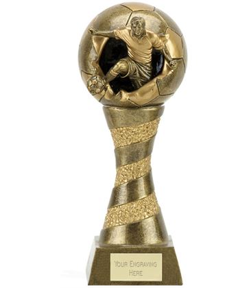 "Xplode 3D Football Trophy 25.5cm (10"")"