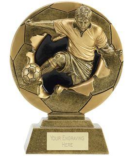 "Xplode 2D Male Footballer Trophy 15cm (6"")"