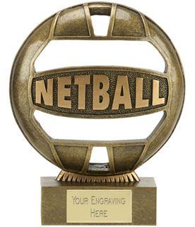 "The Ball Netball Trophy 14.5cm (5.75"")"