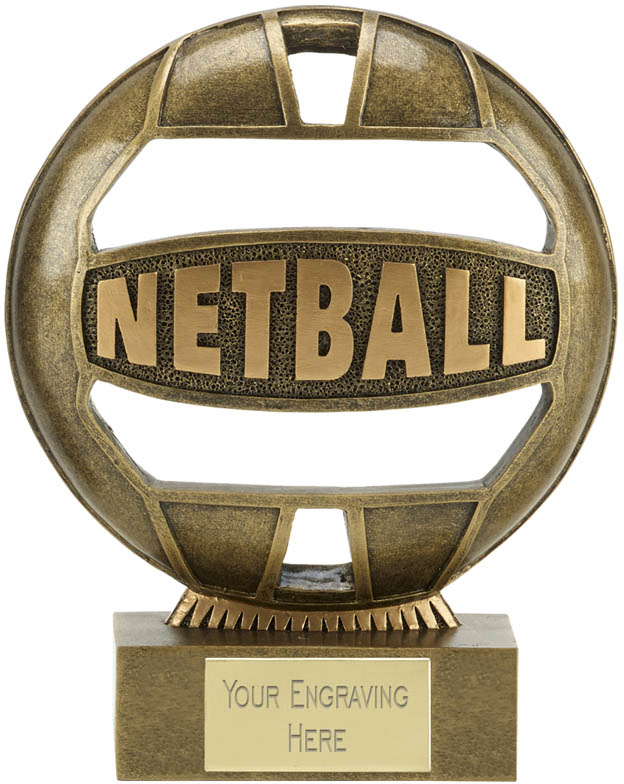 "The Ball Netball Trophy 18cm (7"")"