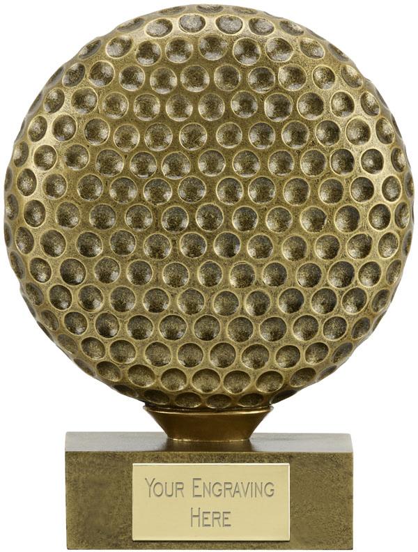 "The Ball Golf Trophy 12cm (4.75"")"