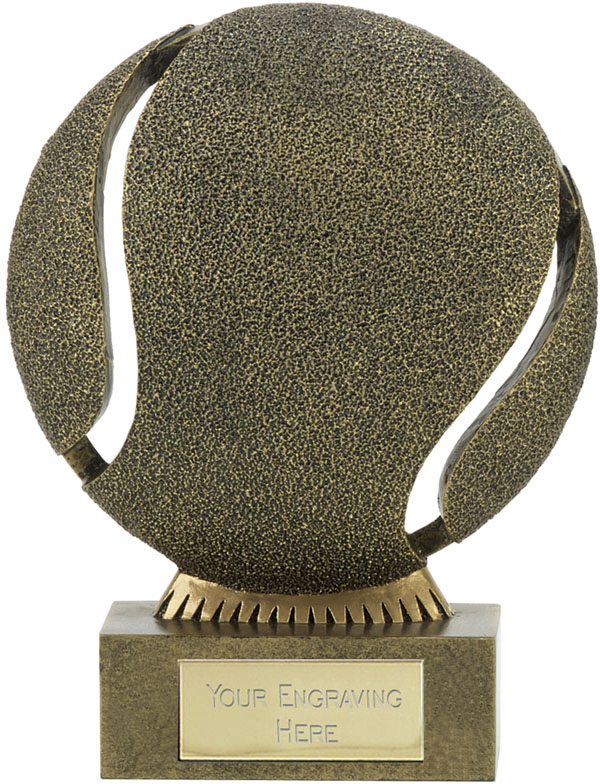 "The Ball Tennis Trophy 12cm (4.75"")"
