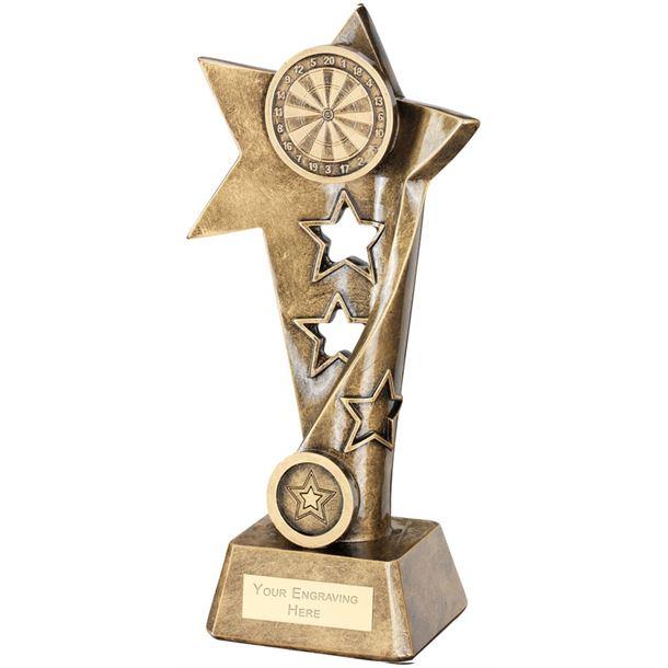 """Darts Twisted Star Column Trophy 26cm (10.25"""")"""