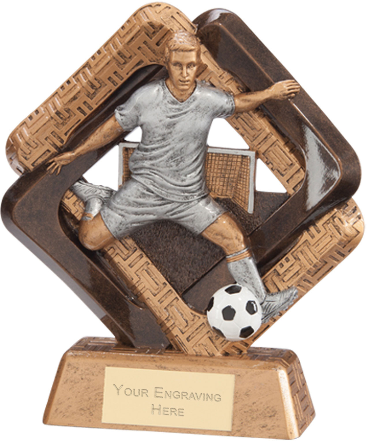 "Sporting Unity Football Award 16.5cm (6.5"")"