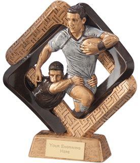 "Sporting Unity Rugby Award 19.5cm (7.75"")"