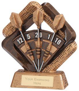 "Sporting Unity Darts Award 16.5cm (6.5"")"
