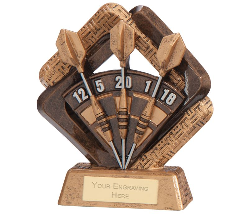 "Sporting Unity Darts Award 16.5cm (6.5"")"