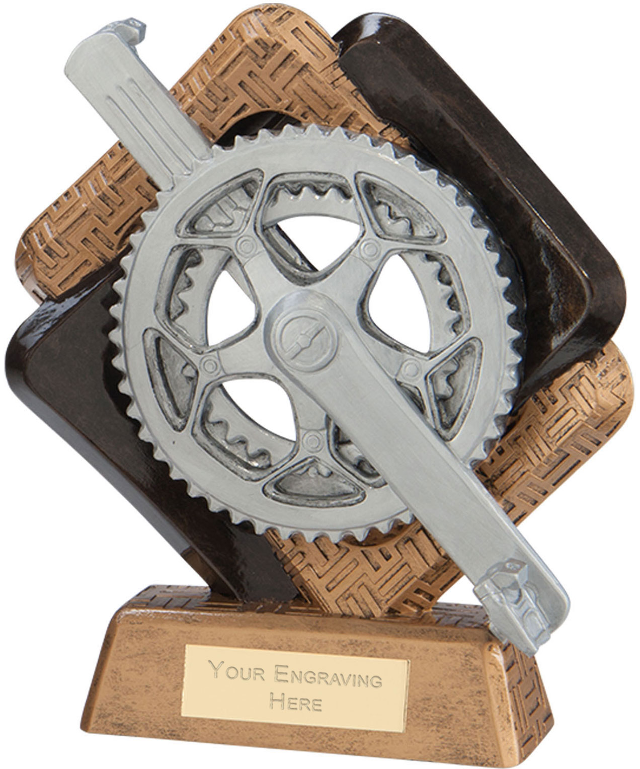 "Sporting Unity Cycling Award 19.5cm (7.75"")"