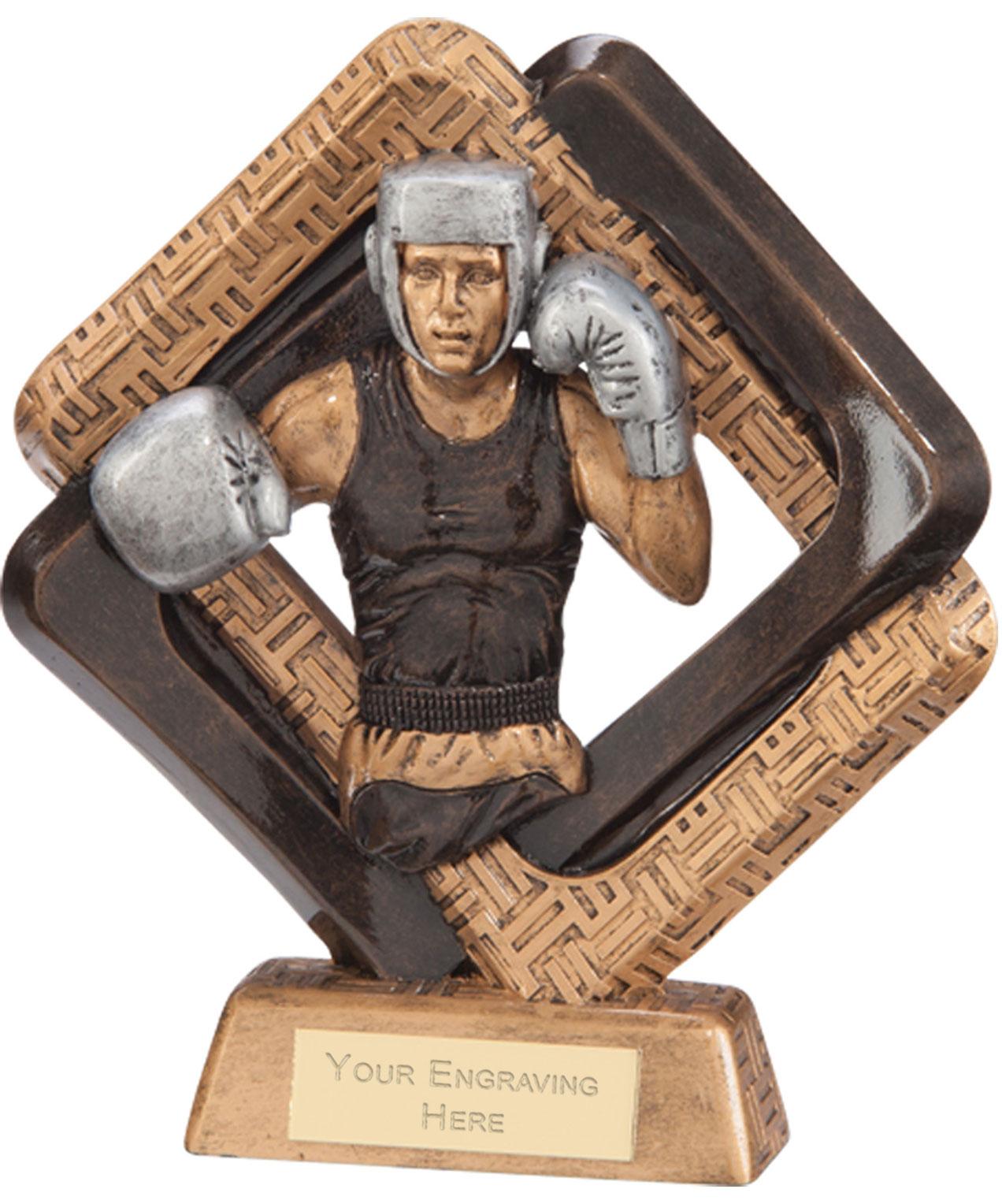 "Sporting Unity Boxing Award 23.5cm (9.25"")"