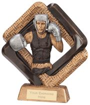 "Sporting Unity Boxing Award 16.5cm (6.5"")"