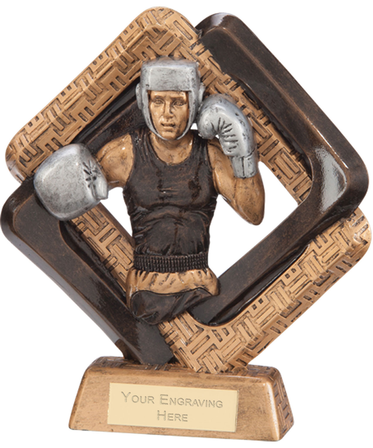 "Sporting Unity Boxing Award 23.5cm (9.25"")"