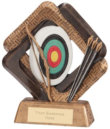 "Sporting Unity Archery Award 13.5cm (5.25"")"