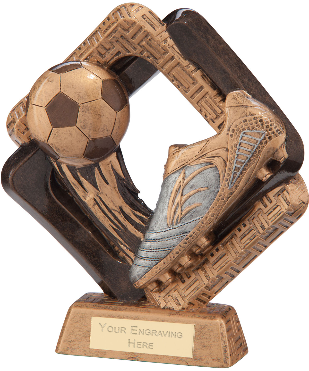"Sporting Unity Boot & Ball Award 10cm (4"")"