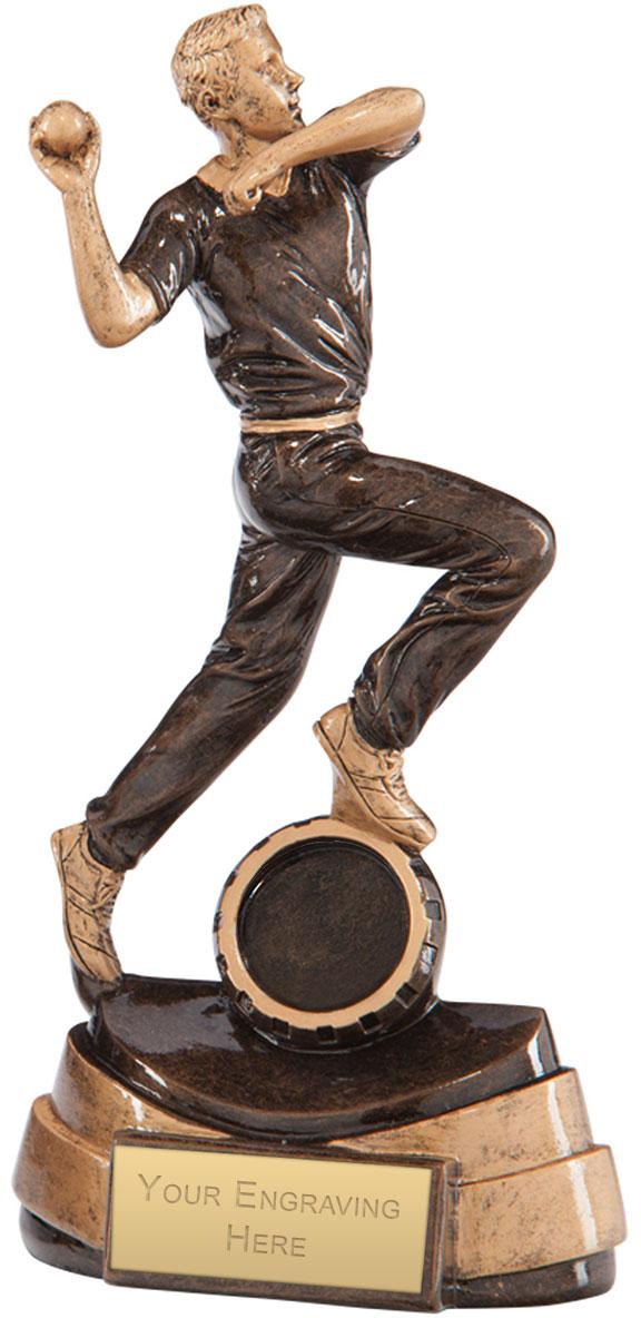 """Legacy Cricket Bowler Award 20.5cm (8"""")"""