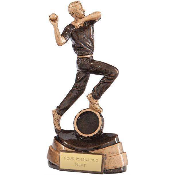 """Legacy Cricket Bowler Award 18.5cm (7.25"""")"""