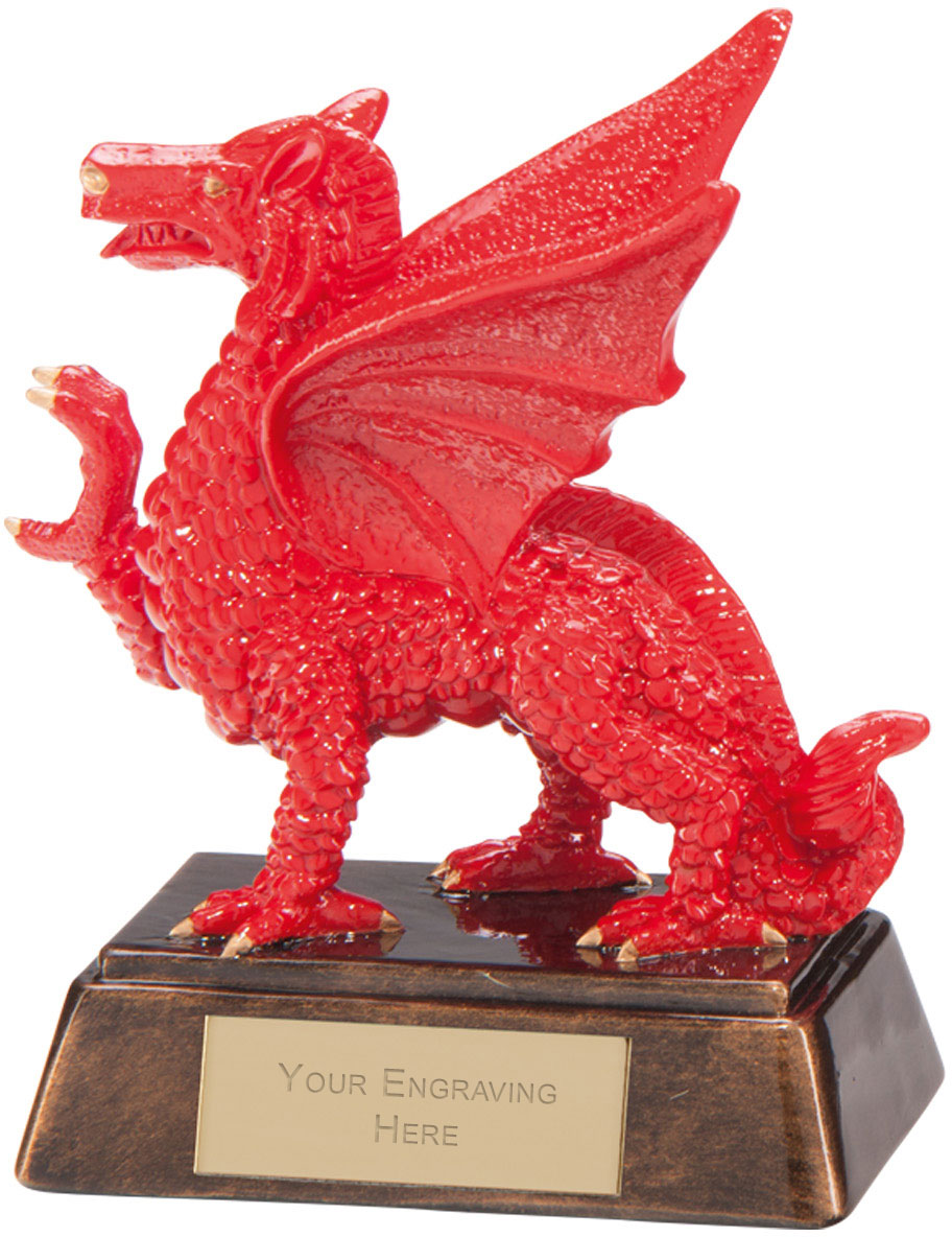 "Celtic Dragon Award 13.5cm (5.25"")"